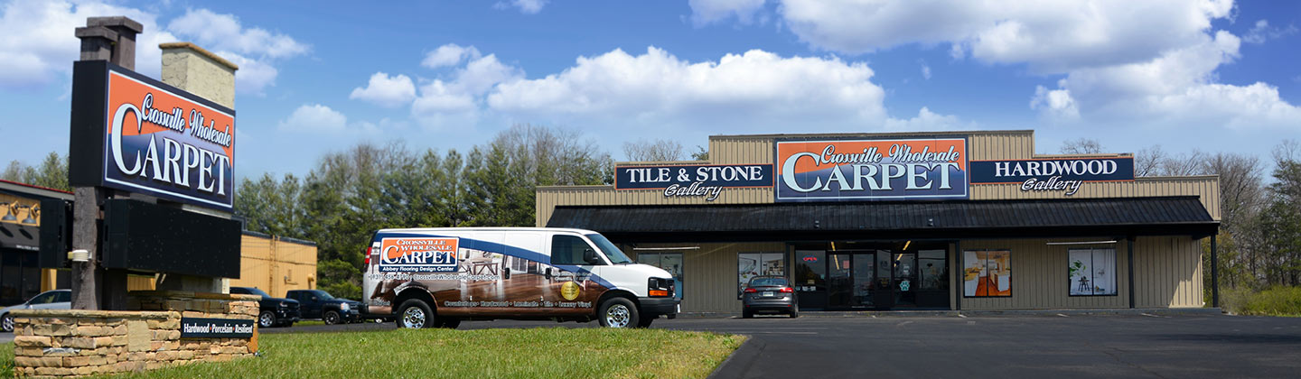 Come visit Crossville Wholesale Carpet in Crossville, Tennesee!