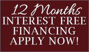 Get the floor you want with 12 month interest free financing!  Apply online today!