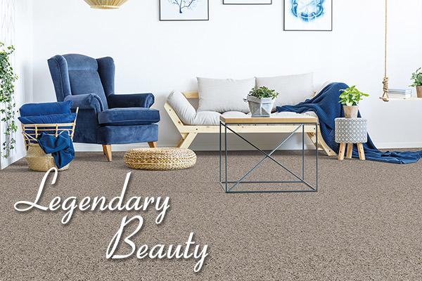 Legendary Beauty exclusive carpet brand