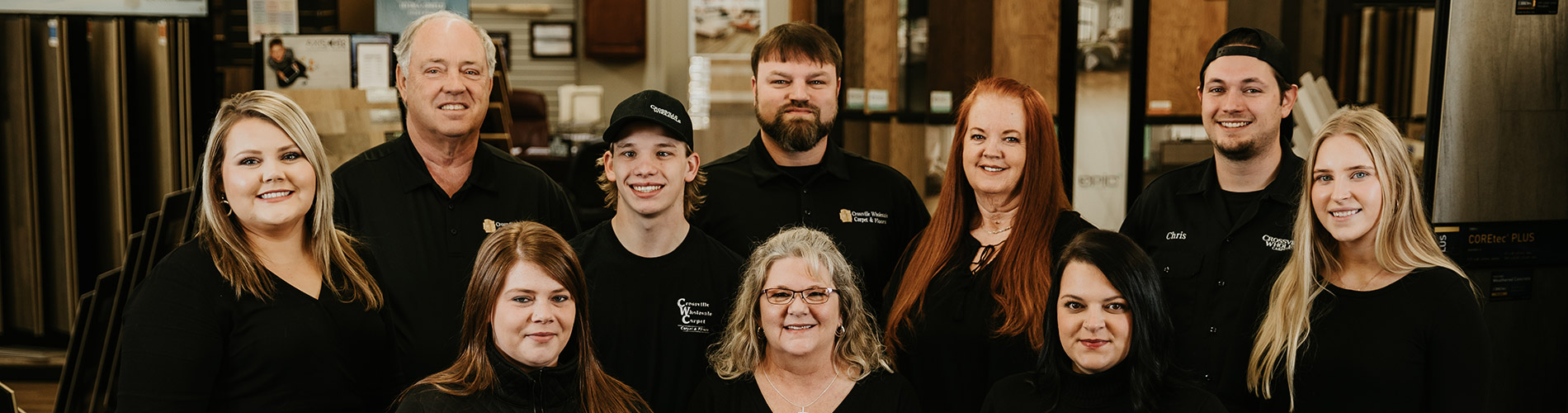 Crossville Wholesale Carpet & Floors Staff